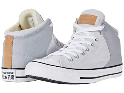 Converse Chuck Taylor All Star High Street Chambray Mid (Wolf Grey/White/Black) Men