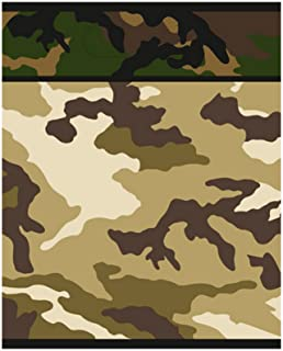 Unique Party Military Camo Loot Bags (Pack of 8) (UK Size: One Size) (Green)