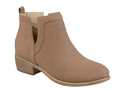Journee Collection Lainee Bootie (Taupe) Women