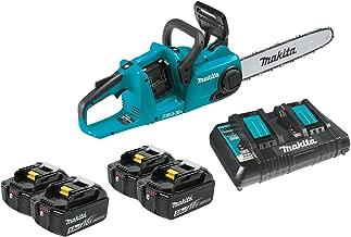 "Makita XCU03PT1 18V X2 (36V) LXT Lithium-Ion Brushless Cordless 14"" Chain Saw Kit.."