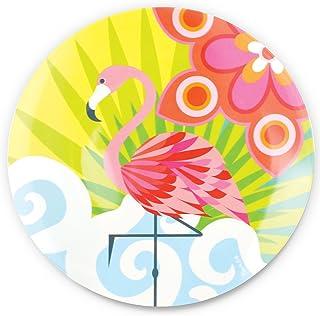 "French Bull 9"" Salad Plate - Melamine Dinnerware - Platter, Dish, Serving, Collection - Tropic Fantasia"