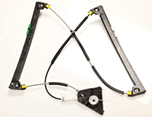 Trade Vehicle Parts AD2004 Front Electric Window Regulator Driver Side W O Motor
