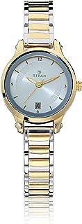 Titan Karishma Analog Silver Dial Women's Watch -NM2602BM02 / NL2602BM02
