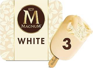 Magnum Ice Cream Bars, White, 3 -Ice creams