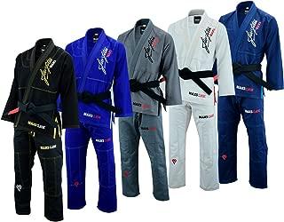 Max5 Ultra Light Brazilian Jiu Jitsu Gi MMA Grapppling Uniform W/Preshrunk Fabric IBJJF Approved BJJ Suit