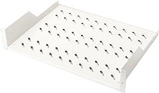 Étagère extractible DIGITUS Professional pour armoires 48,3 cm 350 mm Tiefe Gris