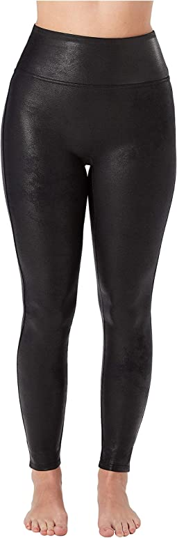 Petite Faux Leather Leggings
