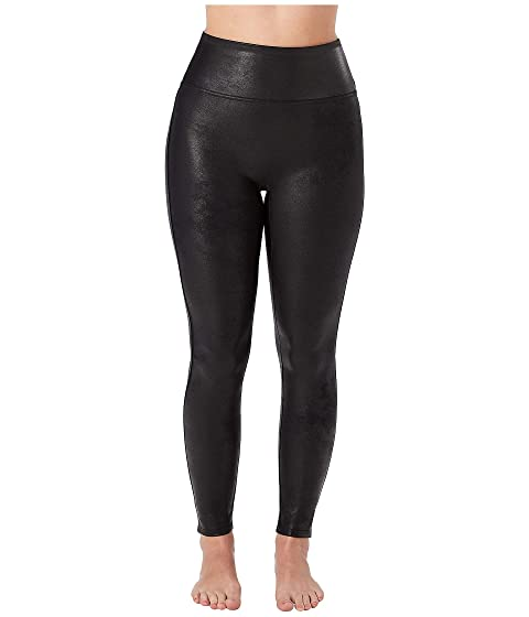 Spanx Petite Faux Leather Leggings At Zappos Com