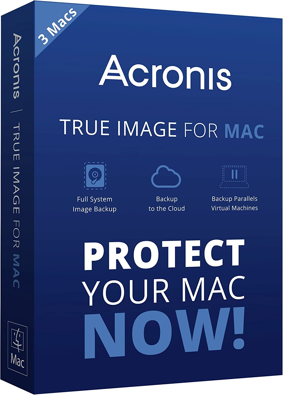 Acronis True Image for Mac Max 63% OFF - 3-Users Special price a limited time 3 License