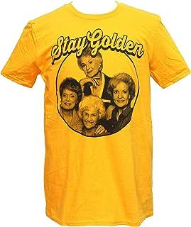 Golden Girls Men's Stay Golden Photo Circle T-Shirt