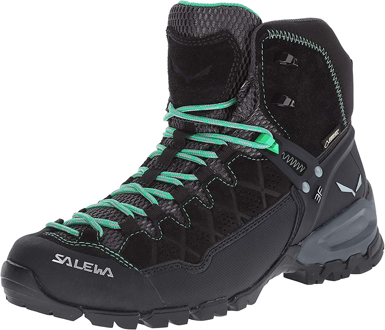 Salewa Womens Ws Alp Trainer Mid Gore-tex High Rise Hiking Boots 4 UK