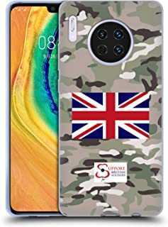 Official Support British Soldiers Multi Terrain Camo Soft Gel Case Compatible for Huawei Mate 30