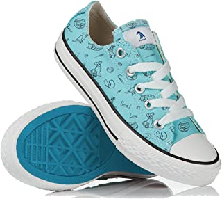 Veterinarian Shoes Women Vet Sneakers Comfy Gift Uniform Blue