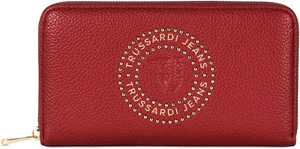 Trussardi jeans portafoglio harper zip around donna 75W00209 9Y099999