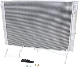 Radiator compatible with G37 08-13/370Z 10-19 /Condenser Combo Automatic Transmission