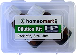 Euphrasia Officinalis 1M Potency, Homeopathic Dilution Kit, Value Pack of 2 from Hahnemann (30ml Each)