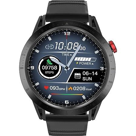 Smartwatch Orologio Fitness con 1.3'' Schermo a colori tattile completo Impermeabile Fitness Tracker Cardiofrequenzimetro Pressione Sanguigna Monitor Nuoto per Android e iOS