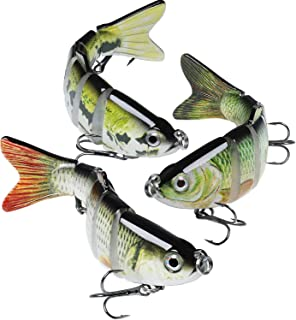 GOTOUR Bass Fishing Lures, Topwater Swimming Lure,...