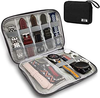 YOOSIDE Watch Bands Storage Bag,Smart Watch Band Nylon Waterproof Protable Storage Bag Case Pouch Organizer Compatible wit...
