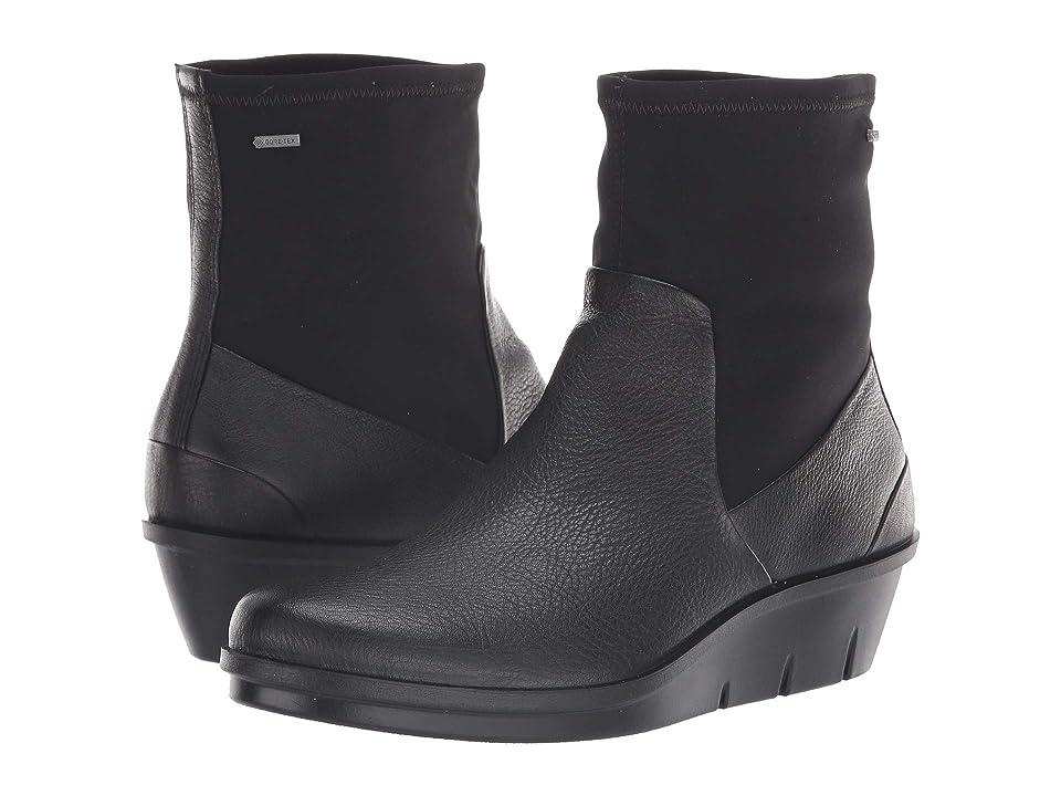 ECCO Skyler GORE-TEX(r) Boot (Black/Black) Women