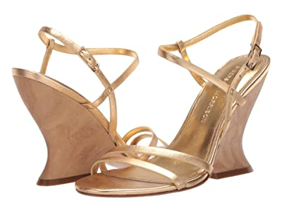 Sigerson Morrison Willa (Gold Leather) Women