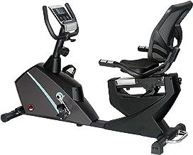 دراجة للتدريب على الدراجة المغناطيسية شديدة التحمل من مارشال فتنيس، سعة 150 كجم، الشاشة، مراقب معدل النبض أثناء التدريب ال...