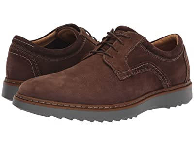 Clarks Un Geo Lace (Dark Brown Nubuck) Men