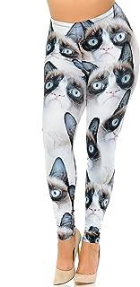 Premium Creamy Soft Plus Size Leggings - by USA Fashion