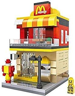 LOZ Mini Block Street Mini Series Fast Food Burger - 1607 (333pcs) 6+ ages