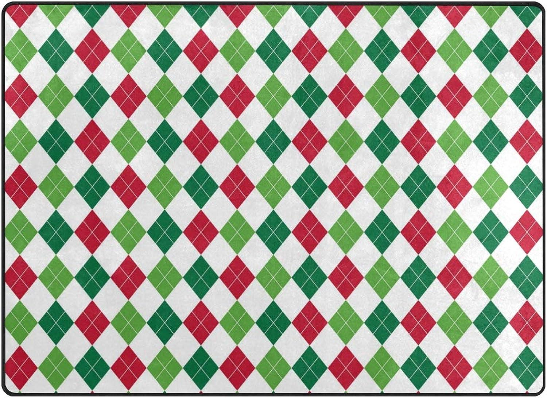 FAJRO color Royal Stewart Tartan Polyester Entry Way Doormat Area Rug Multipattern Door Mat Floor Mats shoes Scraper Home Dec Anti-Slip Indoor Outdoor
