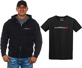 JH DESIGN GROUP Men's Dodge Charger Zip-Up Hoodie & T-Shirt Combo Gift Set