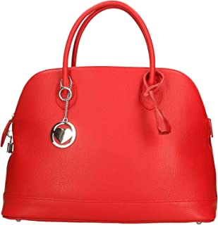 Chicca Borse Bag Borsa a Mano in Pelle Made in Italy 40x30x15 cm
