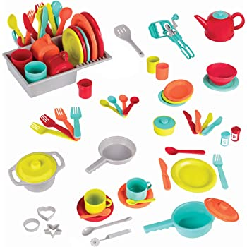 Amazon Com Melissa Doug Kitchen Accessory Play Set Toys Games