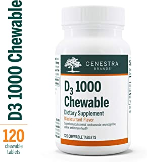 Genestra - D3 1000 Chewable 120 Count