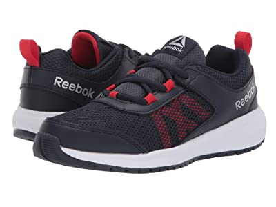 Reebok Kids Road Supreme (Little Kid/Big Kid) (Navy/Red/Silver) Boys Shoes