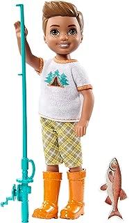 Barbie Camping Fun Boy w/Fishing Pole