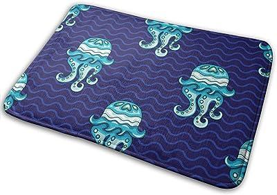 "OceanDoormat Entrance Mat Floor Mat Rug Indoor/Bathroom Mats Rubber Non Slip (23.6""x15.7"",L x W)…"