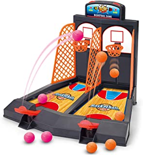 Basketball Shooting Game, YUYUGO 2-Player Desktop Table Basketball Games Classic Arcade..