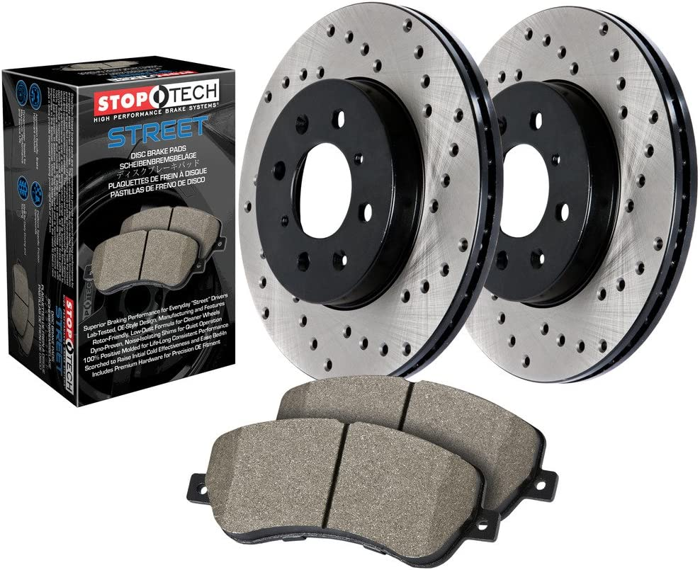 StopTech 939.65015 Street Axle Kansas City Mall Pack Kit Brake Front Ranking TOP8 Drilled