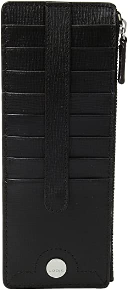 Business Chic RFID Credit Card Case with Zipper Pocket