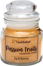 Touch Nature Passion Fruits Soy And Beeswax Jar Candle