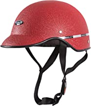 Habsolite All Purpose Safety Helmet with Strap for Bikes (Red, Free Size)