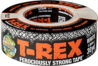 (48 mm x 27 m) - T-REX Ferociously Strong Repair Tape, 4.8cm x 30 yds, White