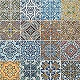 20 tovaglioli quadrati con motivo a mandala, dimensioni di 33 x 33 cm