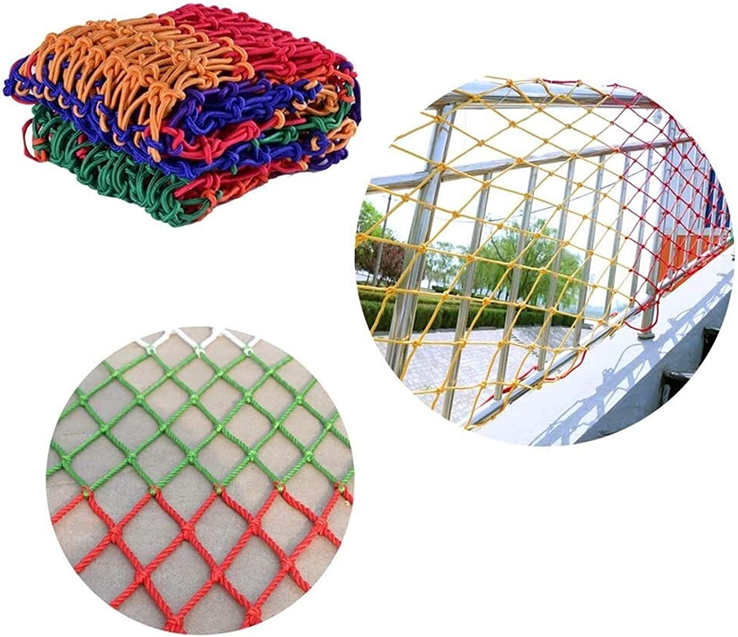 MBTY Max 81% OFF Balcony Protection Net Railing Decor Color Gard Safety Excellent