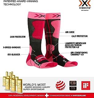 X-Socks, Ski Junior 4.0 Calcetines. Bebé-Niños