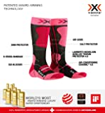 X-Socks Kinder SKI JUNIOR 4.0 Socks, Anthracite Melange/f, 27/30