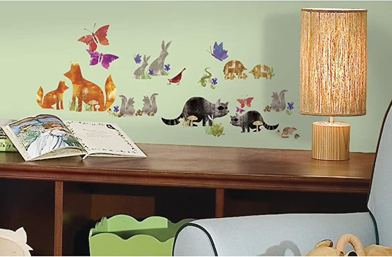 RoomMates Woodland Friends Peel And Stick Wall Decals