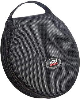 Saim Round CD DVD Bag Wallet 20 Capacity CD DVD Binder Disc Storage Case Wallet CD DVD Protection Box Case Holder Soft Saf...