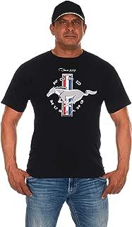 JH DESIGN GROUP Men's Ford Mustang Short Sleeve Crew Neck T-Shirt